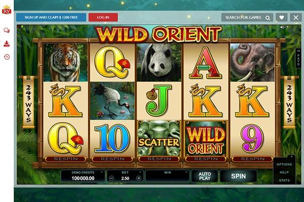 Royal Vegas Canada Wild Orient slot game