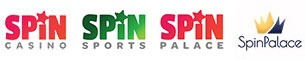 Spin Palace Casino logo re-brand