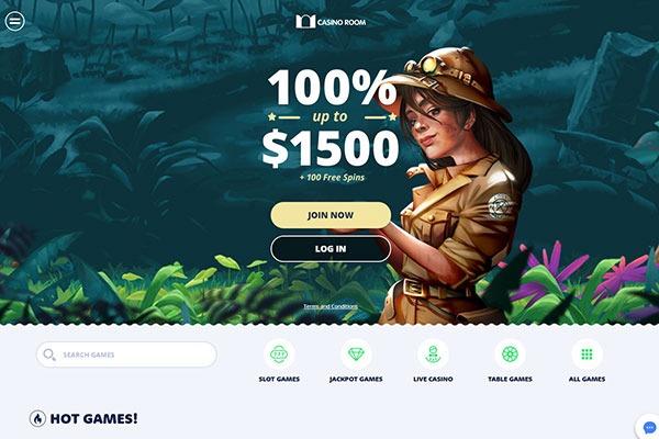 Casino Room Canada homepage