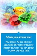 Casino Room 10 no deposit free spins Boomanji