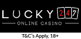 Logo of Lucky247 casino