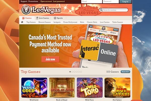 Leo Vegas Casino Payment Interac