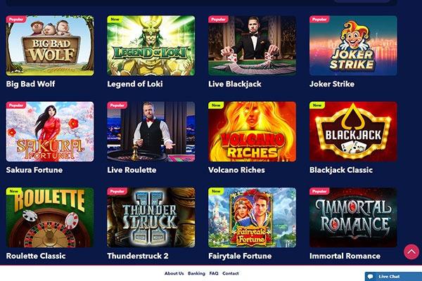 Night Rush Canada Casino Games