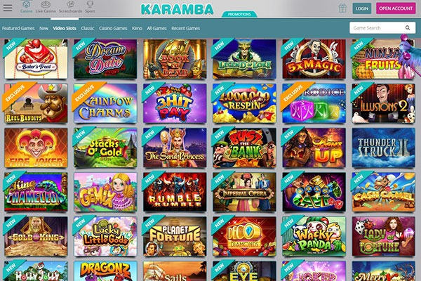 Karamba Canada online slots