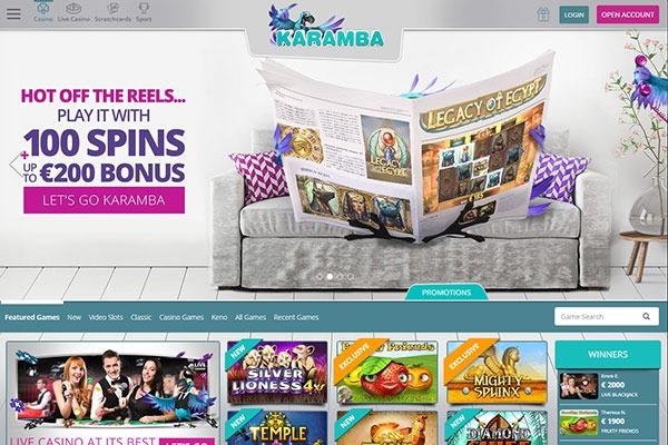 Karamba casino canada home page