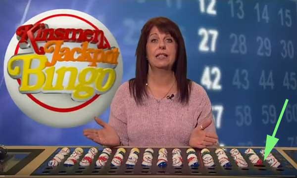 MIssing Kinsmen Bingo Ball