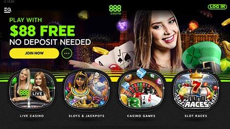 No Deposit Casino Bonuses Top Casinos Top Bonuses