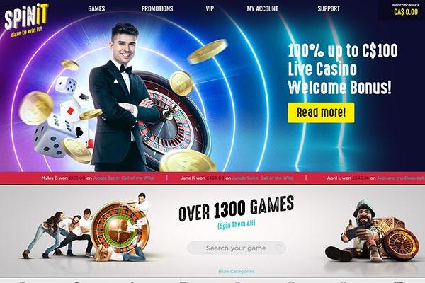 Spinit Live Dealer casino