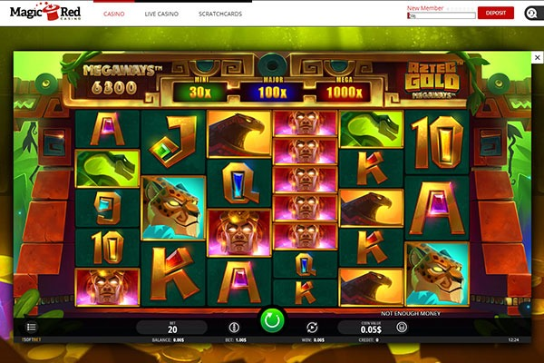 Magic Red Aztec Gold slot game
