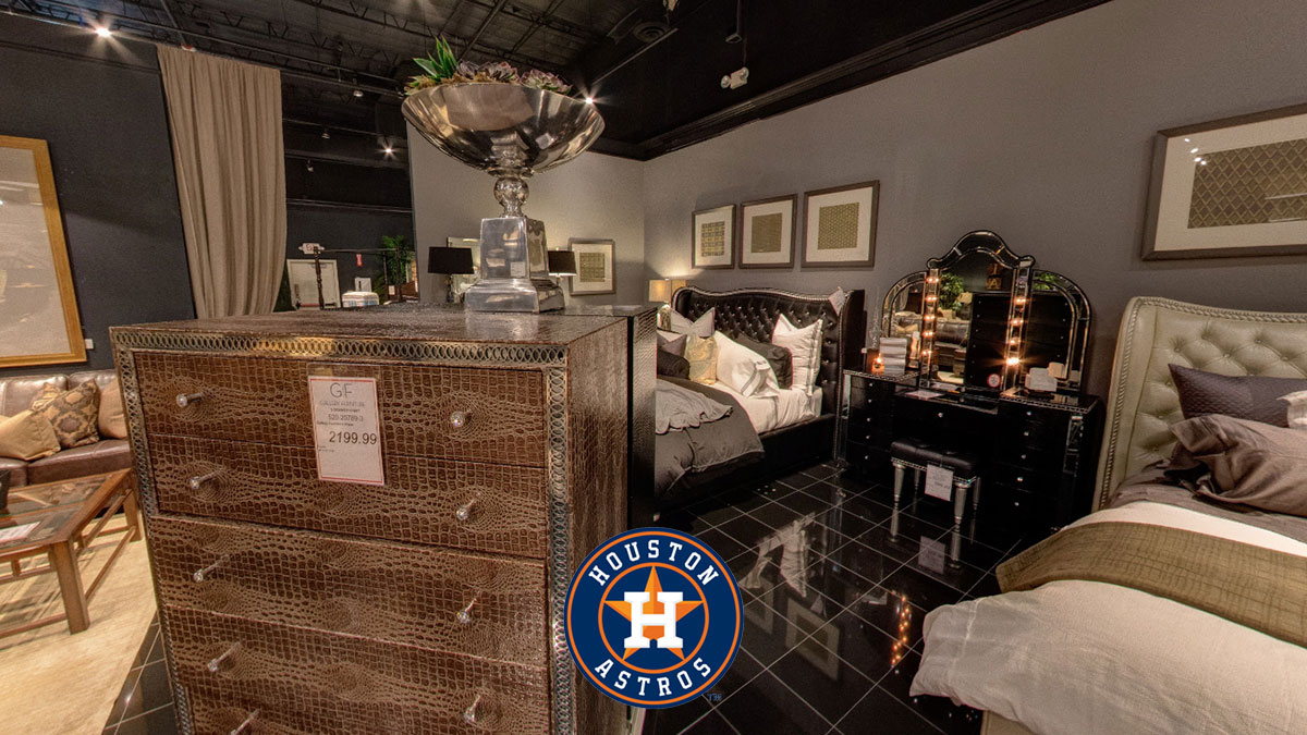 Gallery Furniture Houston Astros bet