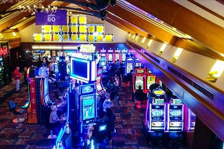 Casino de Charlevoix floor