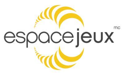 Espace Jeux logo