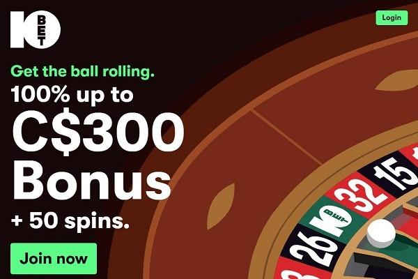 10bet Casino Review Cad 300 Bonus 50 Free Spins