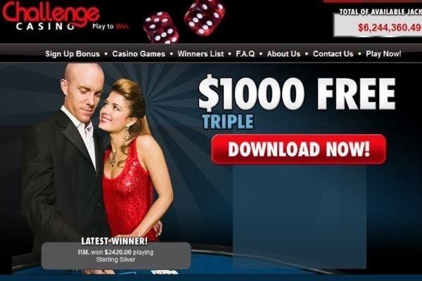 challenge casino homepage