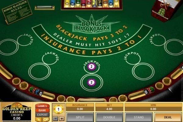 golden reef casino blackjack