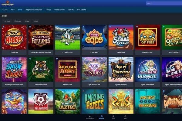 phoenician casino games