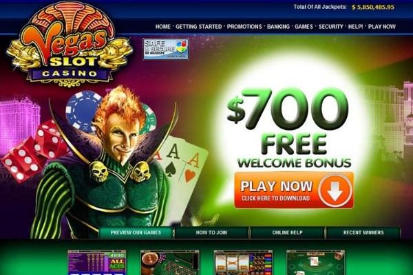 vegas slot casino homepage