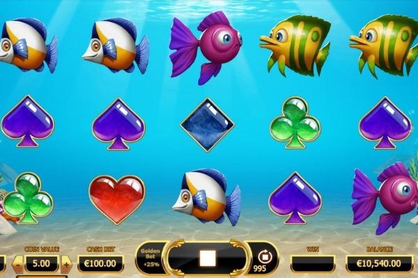 Golden Fish Tank casino slot by Yggdrasil Gaming