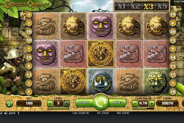 gonzos quest slot by netent gaming