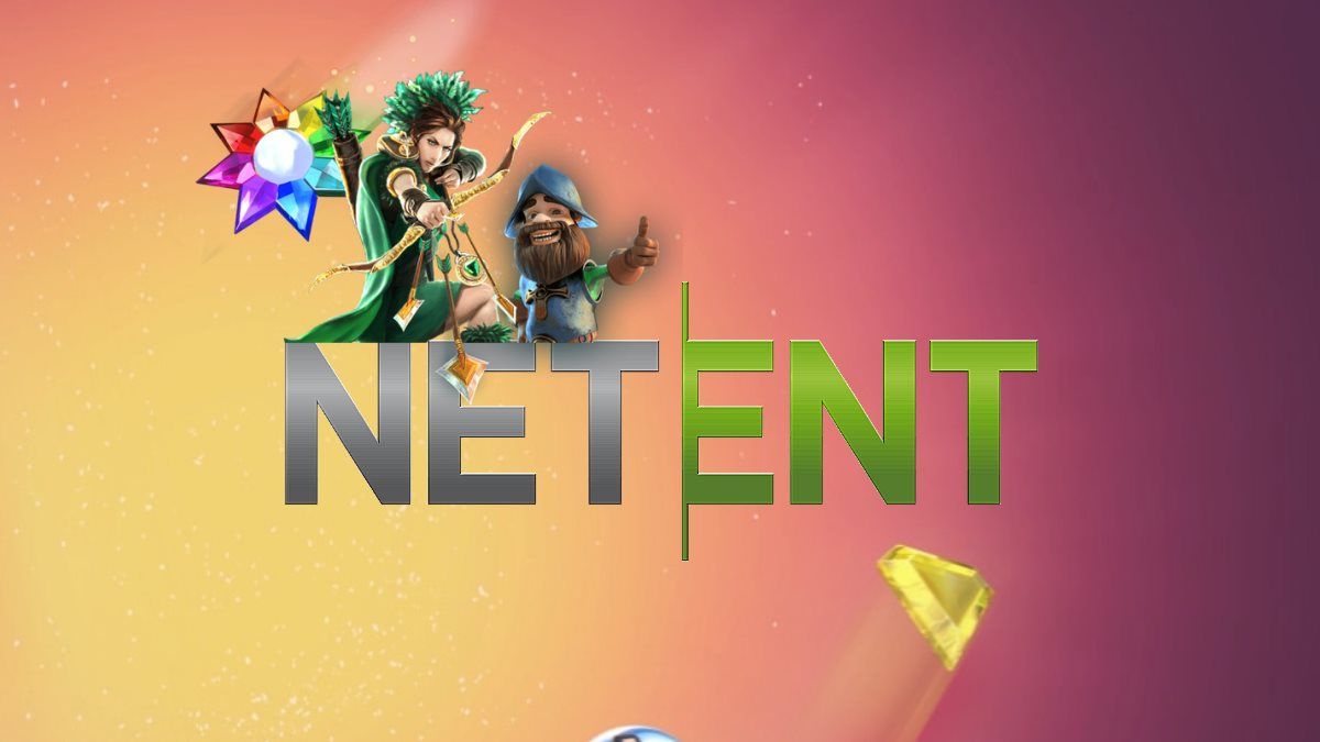 Netent Logo and Characters