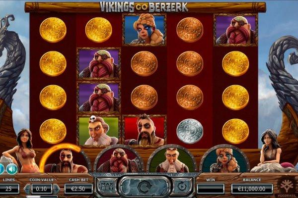 Vikings Go Berzerk slot by Yggdrasil