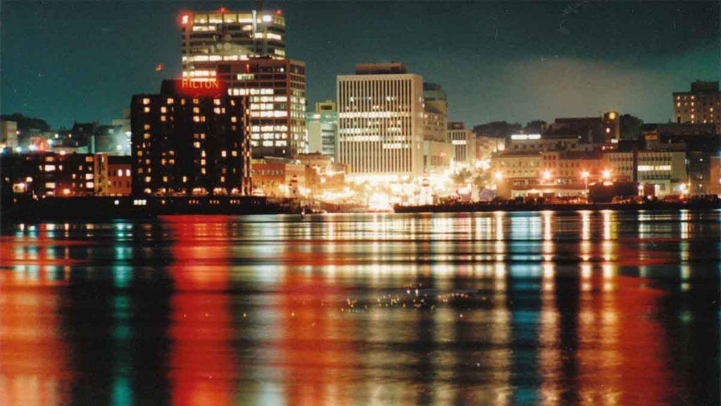 New Brunswick skyline