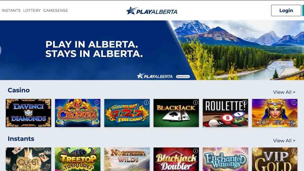 play alberta casino screenshot